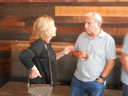 7 Aug- Mary Rolen, and Joe Levio