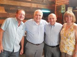 7 Aug-Ferris Ritchey, Paul Gagliano, Tony Cashio, Rosemary Gagliano