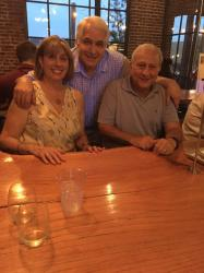 Aug- Rosemary and Paul Gagliano and Joe Levio