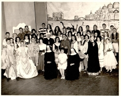 "Cast of ""The Gondoliers""  1966"