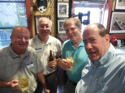 Ken Allison, Greg Gainer, Dick Schmalz, and Sammy Rumore. August 2015