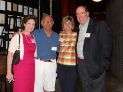 45th Reunion  Linda Bomke, Anthony Piazza, Rose Ann Cicio, and Sammy Rumore