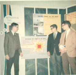 Physics class field trip to Oak Ridge, TN. January 1967