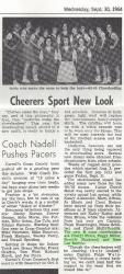 Cheerleaders 09/30/1964